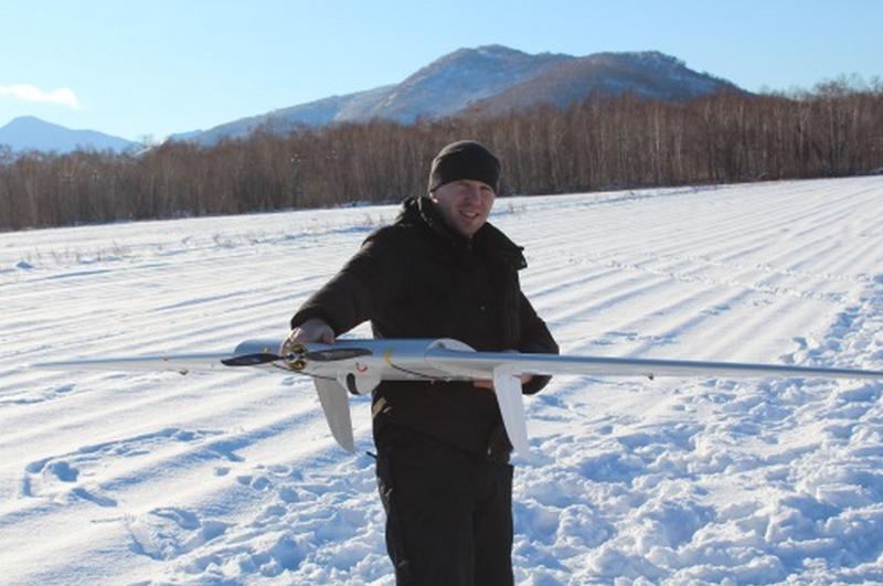 БЛА Supercam применяется для патрулирования лесов на Камчатке