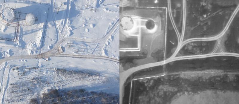 Группа компаний «Беспилотные системы» расширяет сферу применения тепловизионной съемки