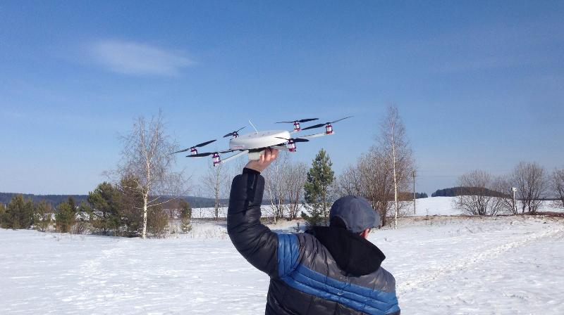 БПЛА Supercam X6 на службе у ГУФСИН по Красноярскому краю