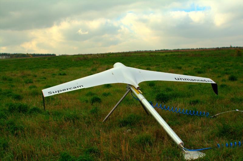 Группа компаний «Беспилотные системы» представила новейший БПЛА Supercam S-300M (Буревестник)