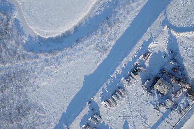 Мониторинг трубопроводов с помощью БПЛА Supercam в ОАО «Томскнефть»