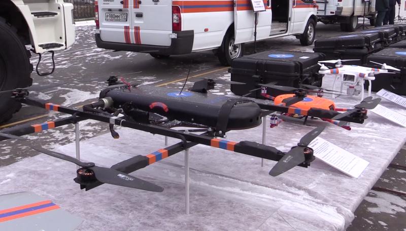 Центр беспилотной авиации ГУ МЧС по Московской области оснастили беспилотниками Supercam