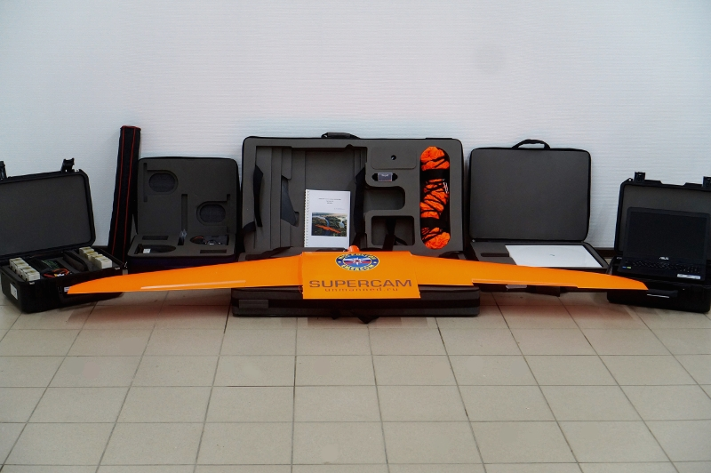 БПЛА Supercam S250 на службе в ГУ МЧС России по Алтайскому краю
